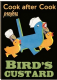 Birds Custard Cook After Cook Steel Sign (fd)